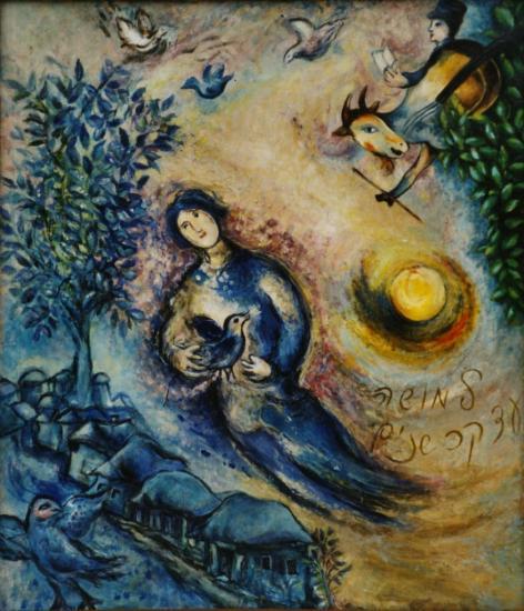 à la manière de Marc Chagall