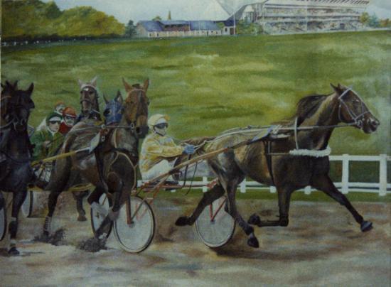 Fresque chevaux